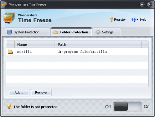 Free Wondershare Time Freeze