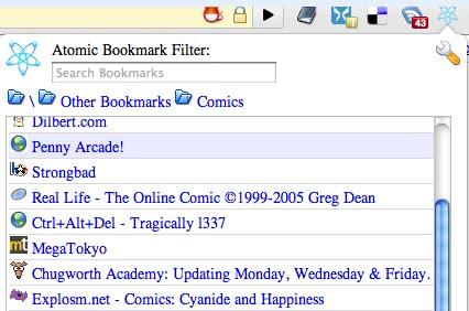 Google chrome bookmark manager