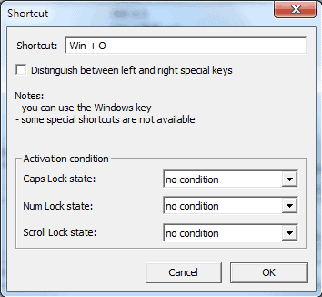 Create Keyboard Shortcuts With Clavier+