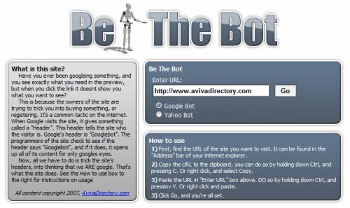 Access Websites As Google Bot