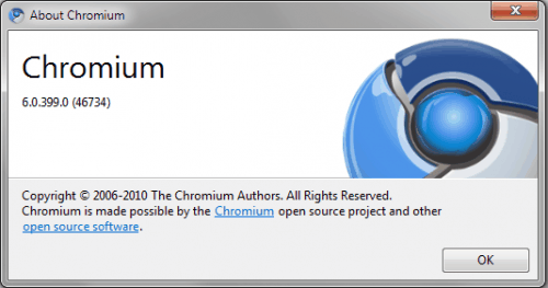 Chromium 6 Has landed, Expect Google Chrome 6 Soon