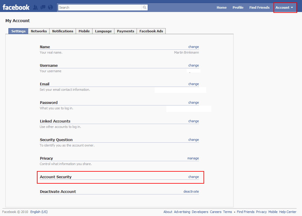 Receive notifications if someone else logs into your facebook receive notifications if someone else logs into your facebook account ccuart Image collections