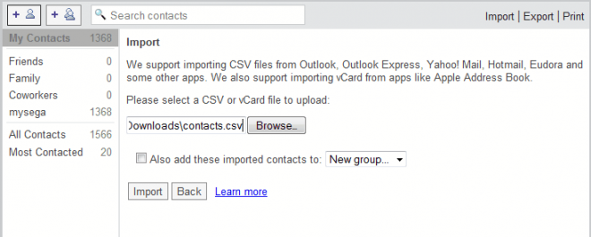 import contacts gmail