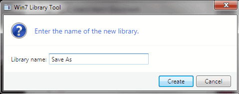 windows 7 library software
