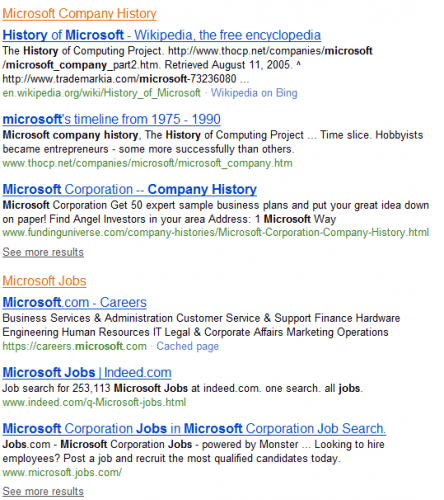 What Bing Search Does And Could Do Better