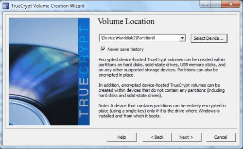 encrypt drive