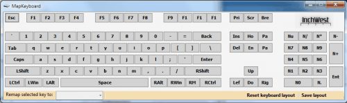 map keyboard