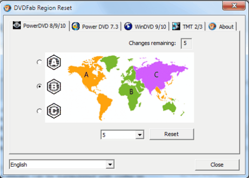 Unlock DVD And Blu-Ray Regions In Popular Software Players