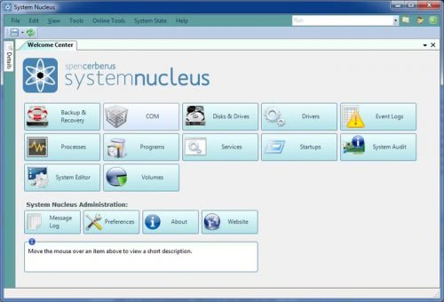 system nucleus