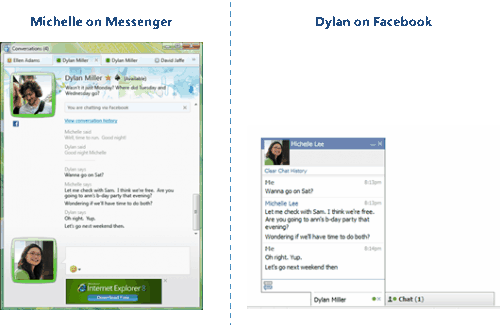 New Facebook chat integration