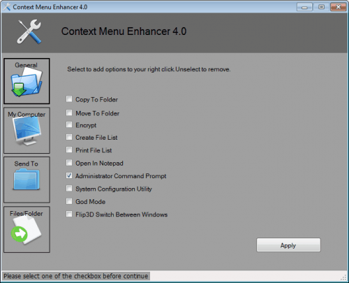 context menu enhancer