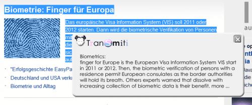 google translate system wide