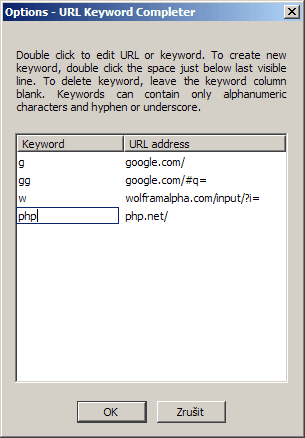 url keyword url