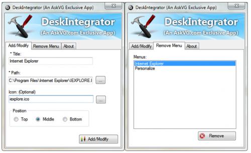 desk integrator