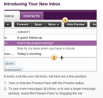 yahoo mail inbox