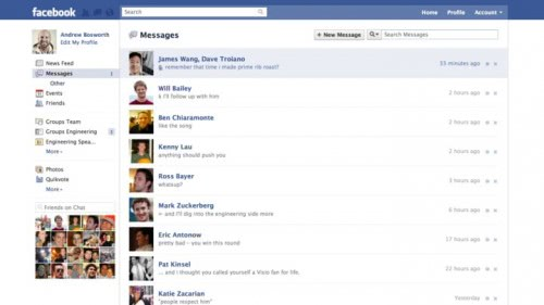 facebook messages inbox