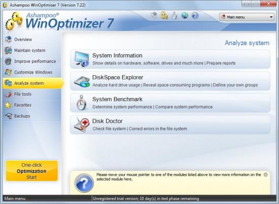 analyze system