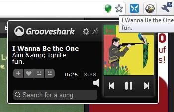 grooveshark remote control sharkzapper