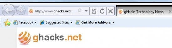 Get More Space For Tabs In Internet Explorer 9