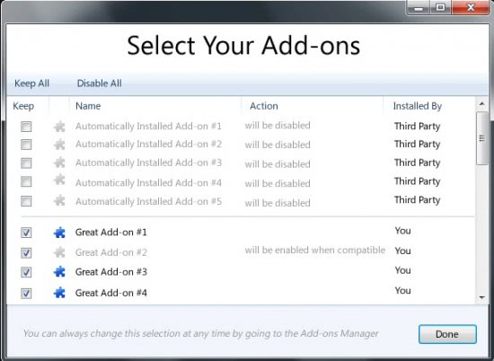 add-on manager