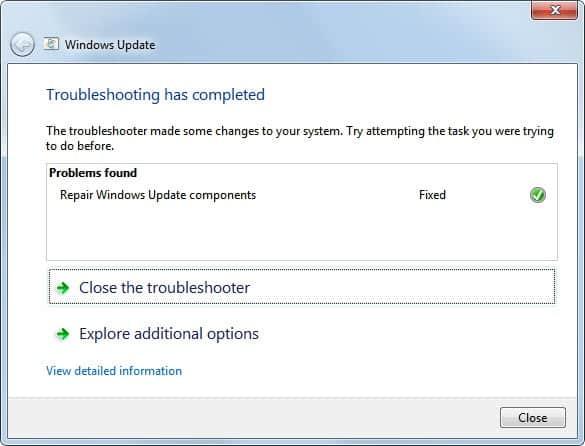 repair windows update