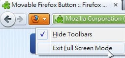 smaller firefox button