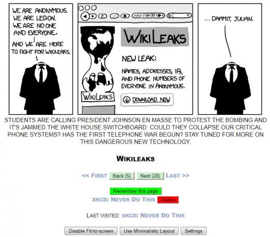 webcomic reader
