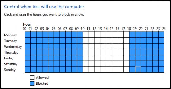 block computer access