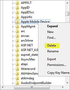 delete service