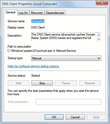 dns client service