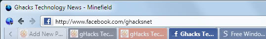firefox colored tabs