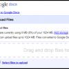 google docs upload