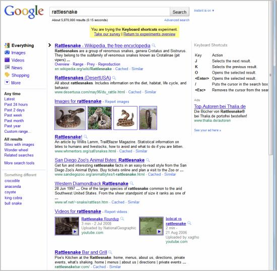 google keyboard search