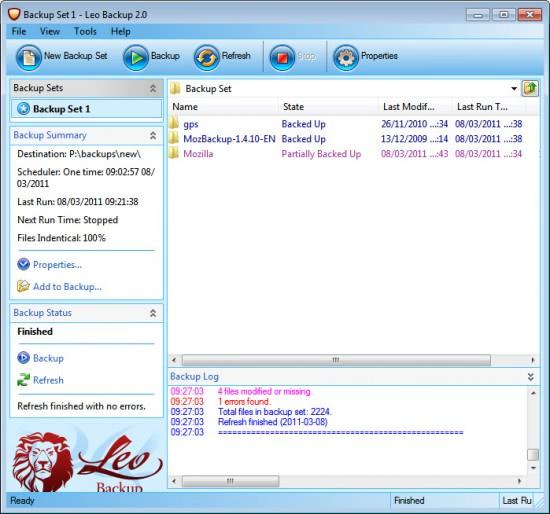 leo backup software