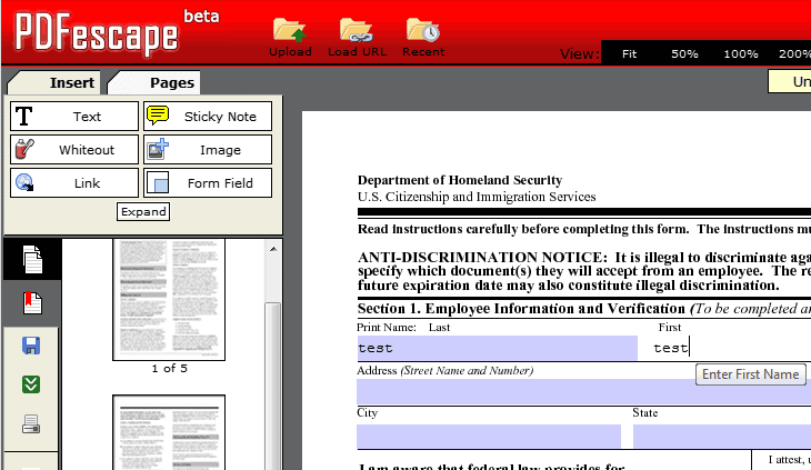 How To Fill Out PDF Forms On Your Computer - gHacks Tech News