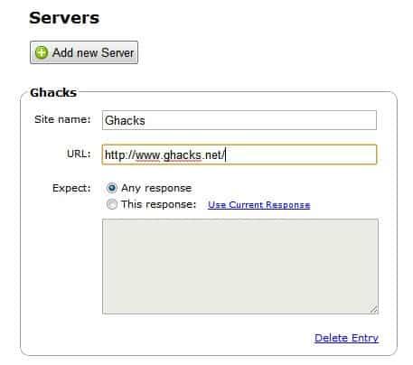 add web servers