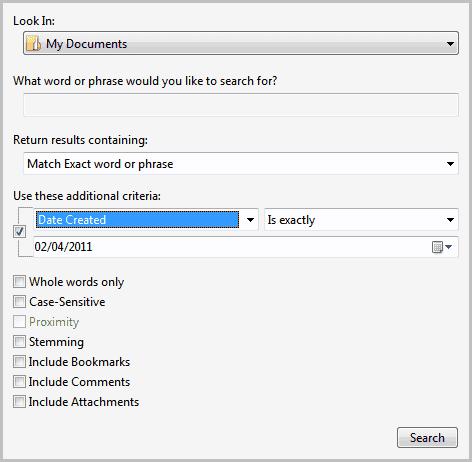advanced pdf search