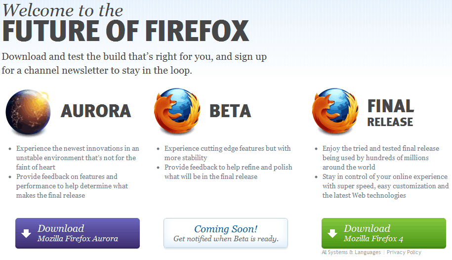 firefox channels download