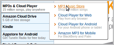 mp3 music store