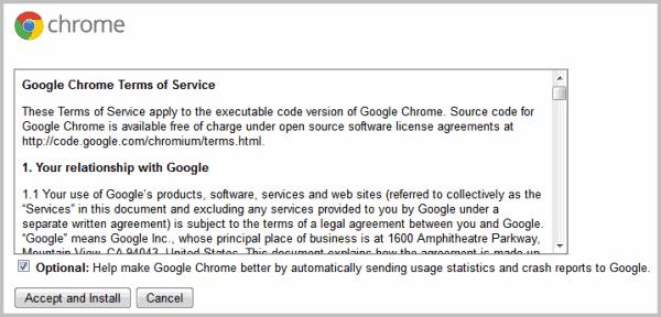 google crash handler