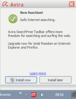 new function safe internet searching