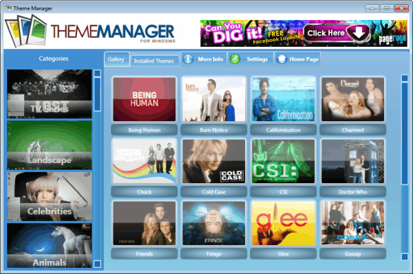 windows 7 theme manager