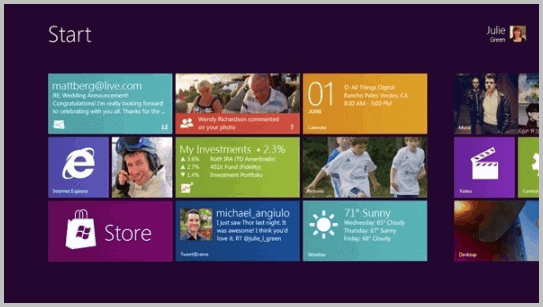 windows 8 video still interface
