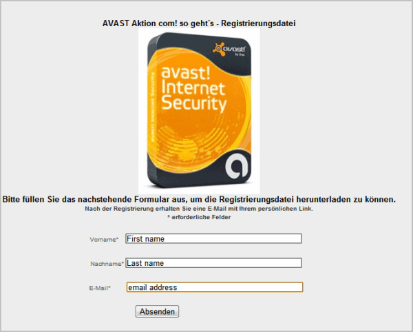 avast internet security license