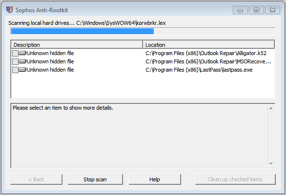 scanning-for-rootkits