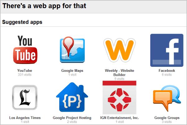 web app suggestions