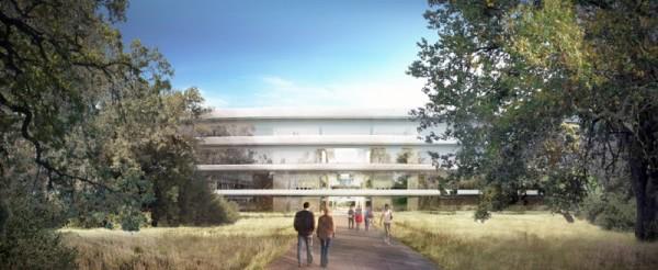 Apple's new mothership HQ gets visualised