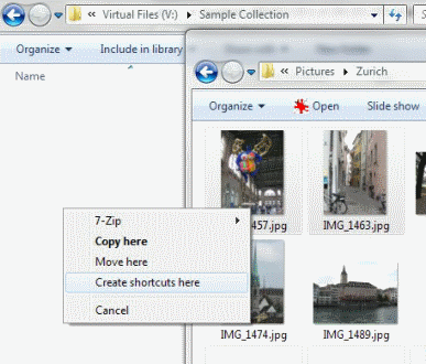 create virtual files