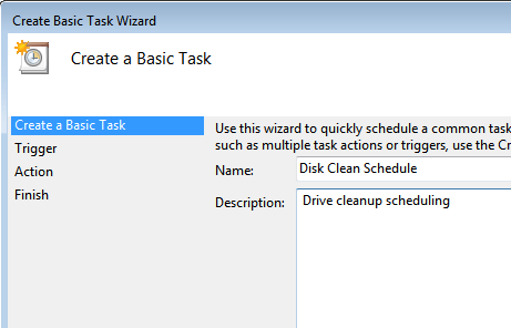 drive cleanup task
