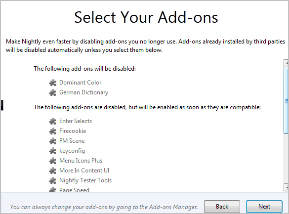 firefox disable add-ons